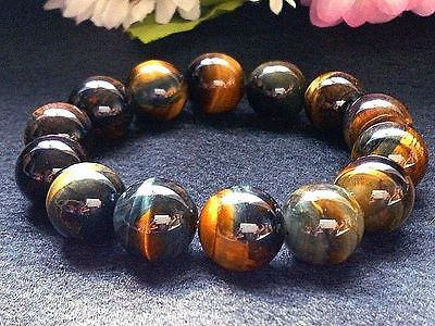Golden Blue Tiger Eye Bracelet