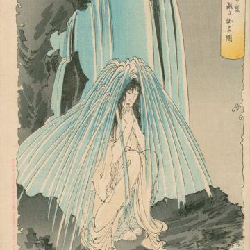 Praying under Waterfall-B Final