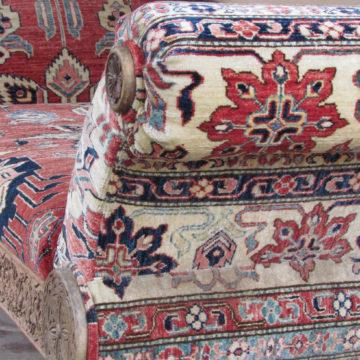 Kazak Lounge chair side