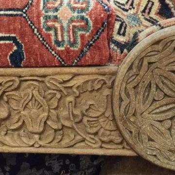 Kazak lounge chair detail