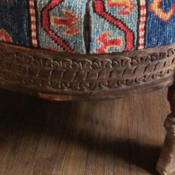 Kazak ottoman side detail