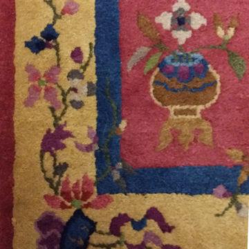 Nepal rug 4'x2'Detail