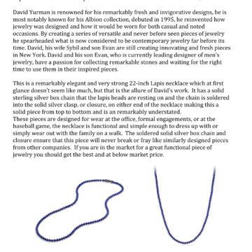 Lapis Lazuli Necklace 22