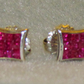 Ruby 18k invis set 1A
