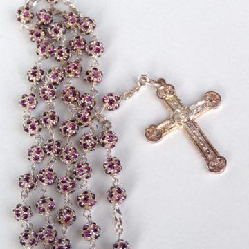 Amethyst Rosary N-31a web