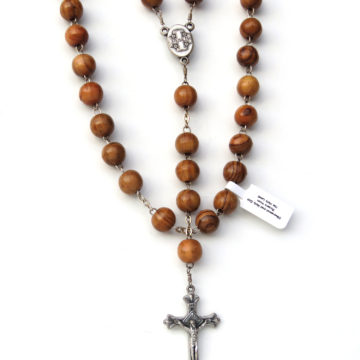 Olivewood Rosary N-32 web