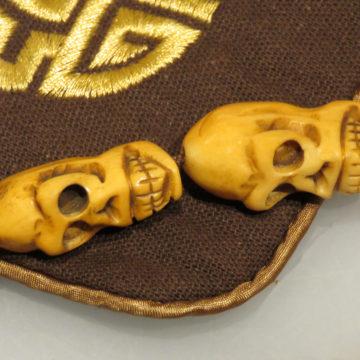 Rare Vintage 30mm Yak Bone Prayer Beads4 web