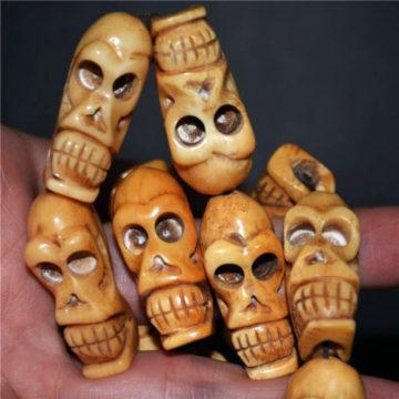Vintage Yak Bone prayer Beads