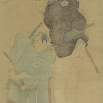 The Wrestler Sharaku-verso